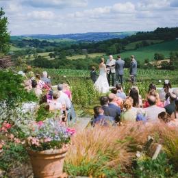 Burrow Farm Gardens Unique Wedding Venue Marquee Receptions (3)